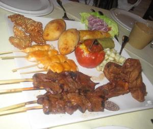 Anticuchos, food, Peru, travel