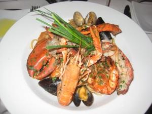 La Rocca, Italian Restaurant, Copenhagen, Travel, Food, Sea food.